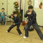 中国の学習者の方による太極拳の披露
